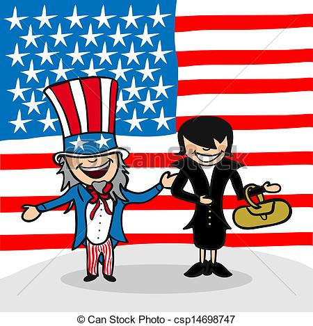 Eps vector welcome to. Clipart people of united states