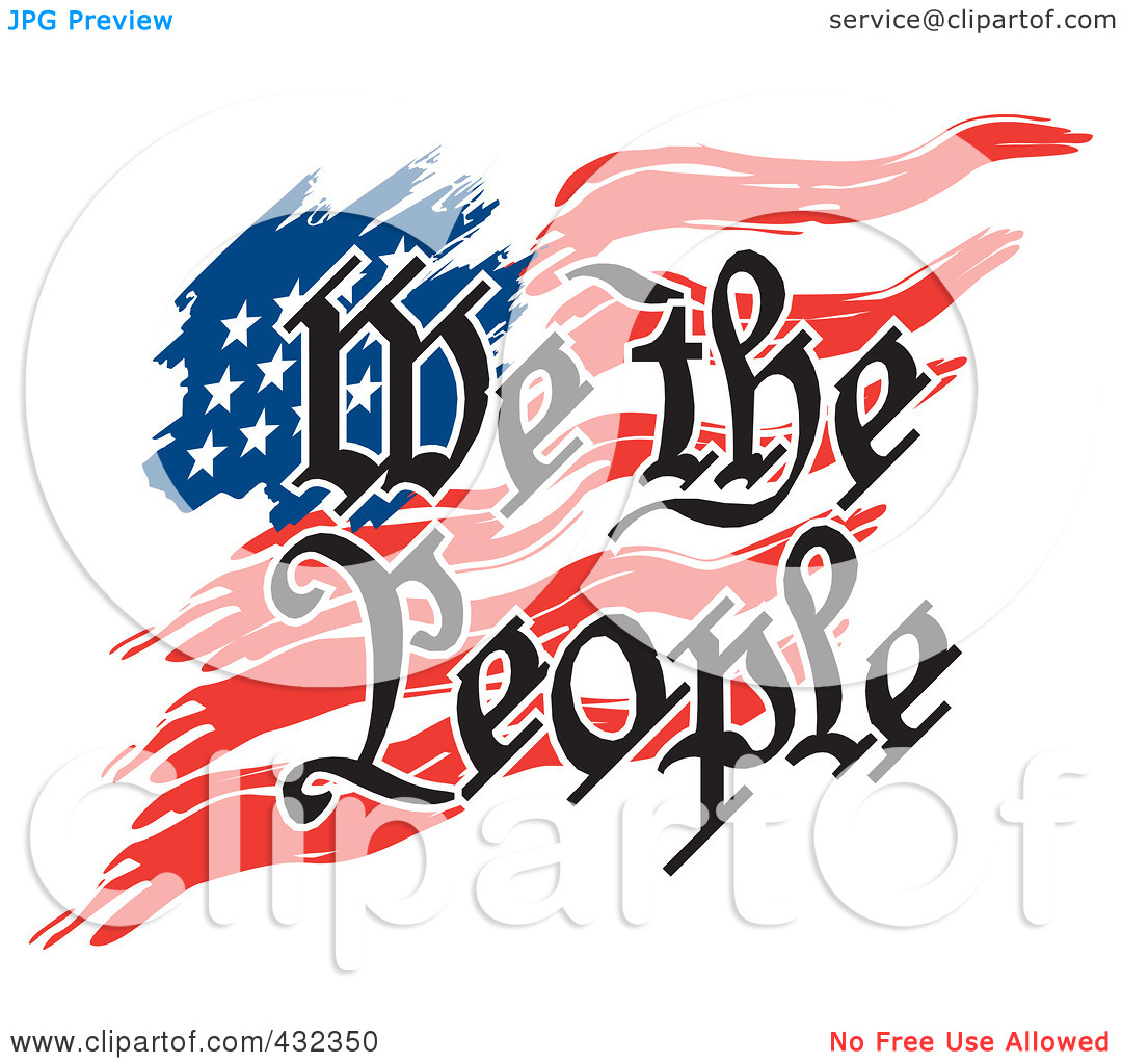 Clipart people of united states graphic royalty free download We the People of the United States Clip Art – Clipart Free Download graphic royalty free download