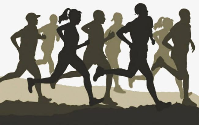 Clipart people running clip free download A Group Of People Running PNG, Clipart, Group, Group Clipart ... clip free download