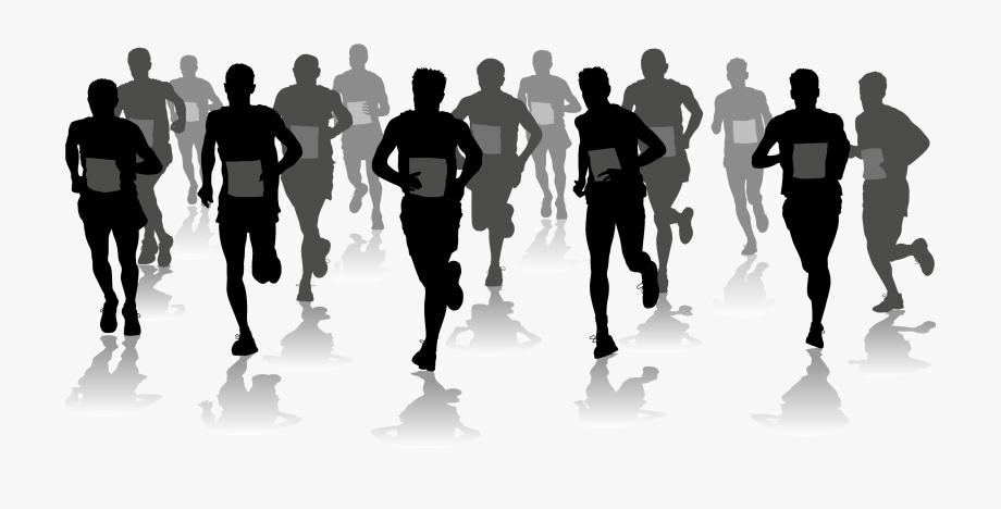 Clipart people running svg transparent download Saturday, April 22nd - People Running Marathon Clipart #1513406 ... svg transparent download