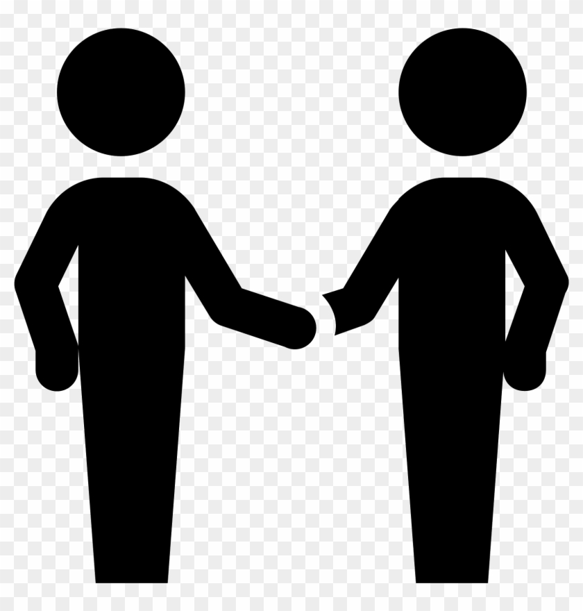 Clipart people shaking hands clipart freeuse library People Shaking Hands Png - Two People Shaking Hands Icon ... clipart freeuse library
