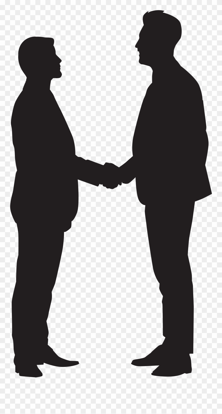 Clipart people shaking hands clip art royalty free library Men Shaking Hands Clipart - Png Download (#107918) - PinClipart clip art royalty free library