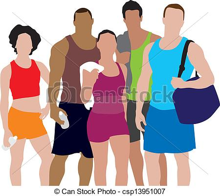 Clipart people working out freeuse library Clip Art People Working Out Clipart freeuse library