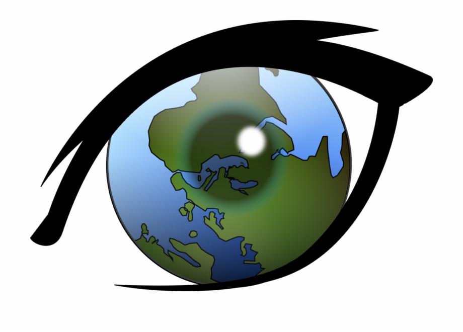 Clipart perception banner transparent download Alternative Earth Eye Globe Perception Reality - Vision Clipart Free ... banner transparent download