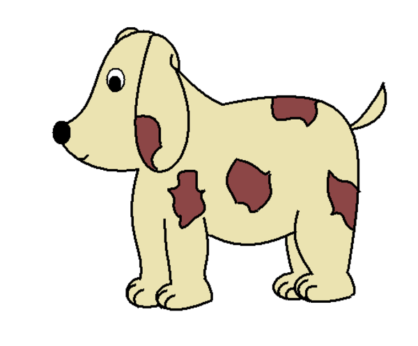 Clipart perro picture black and white library Perro | Free Images at Clker.com - vector clip art online, royalty ... picture black and white library