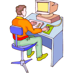 Clipart person at computer royalty free Person at computer clipart 1 » Clipart Station royalty free