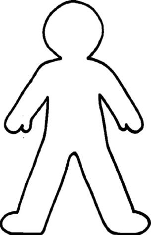 Clipart person outline picture transparent library Person Outline Clipart   Free download best Person Outline Clipart ... picture transparent library