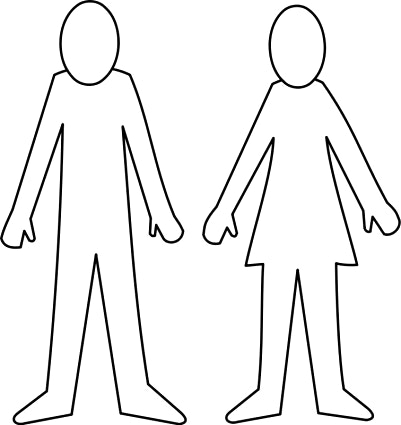 Clipart person outline graphic freeuse library Person outline clipart 3 - Cliparting.com graphic freeuse library