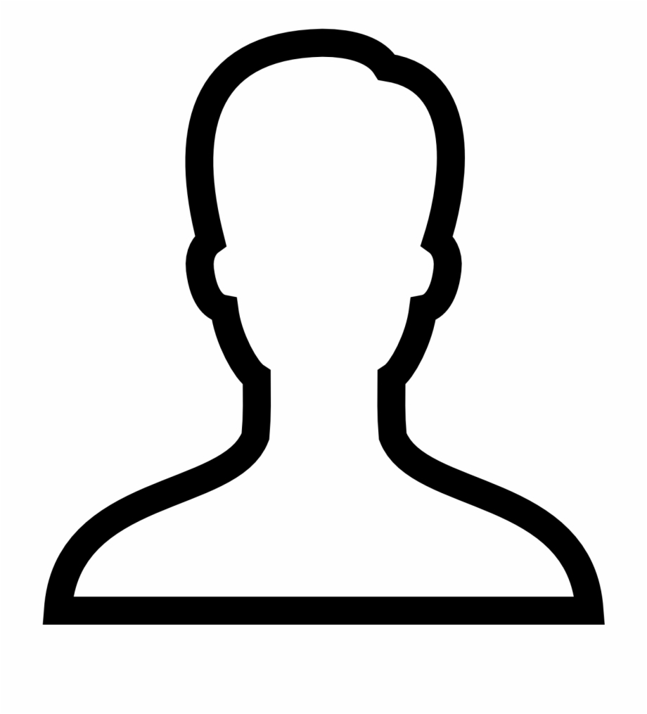 Clipart person outline image library download Person Outline Png Free PNG Images & Clipart Download #28665 ... image library download