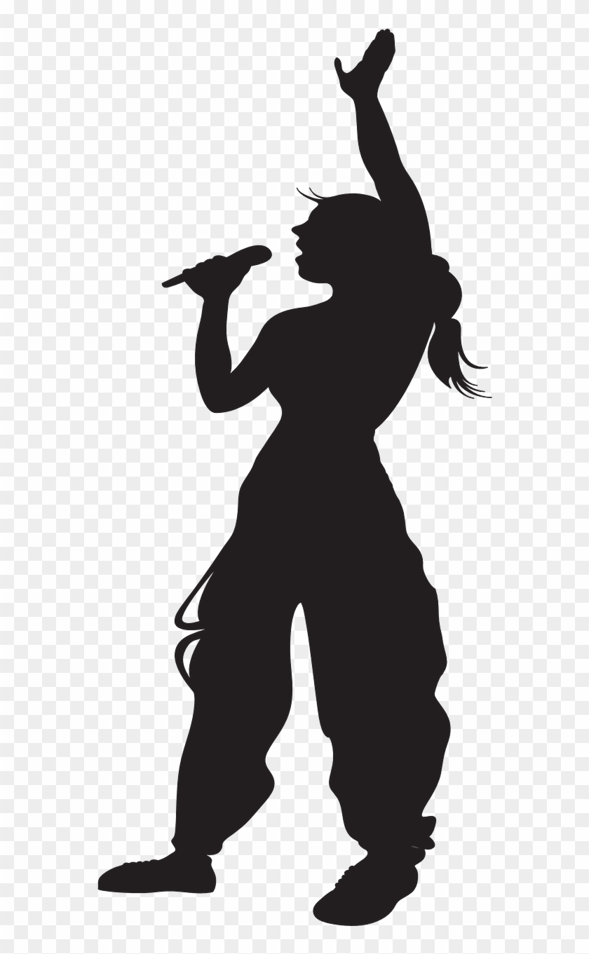 Clipart person singing transparent jpg download Karina Kampe » Undervisning -musik - Person Singing Silhouette Png ... jpg download