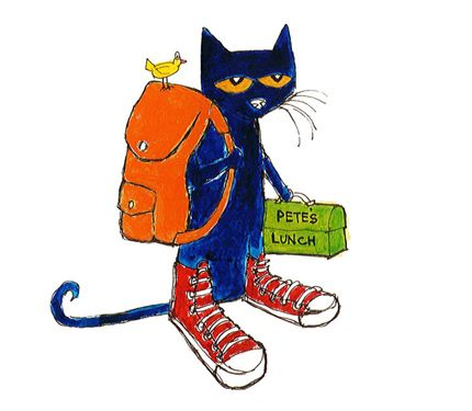 Clipart pete the cat walking in shoes clip transparent download Pete The Cat Clipart | Free download best Pete The Cat Clipart on ... clip transparent download