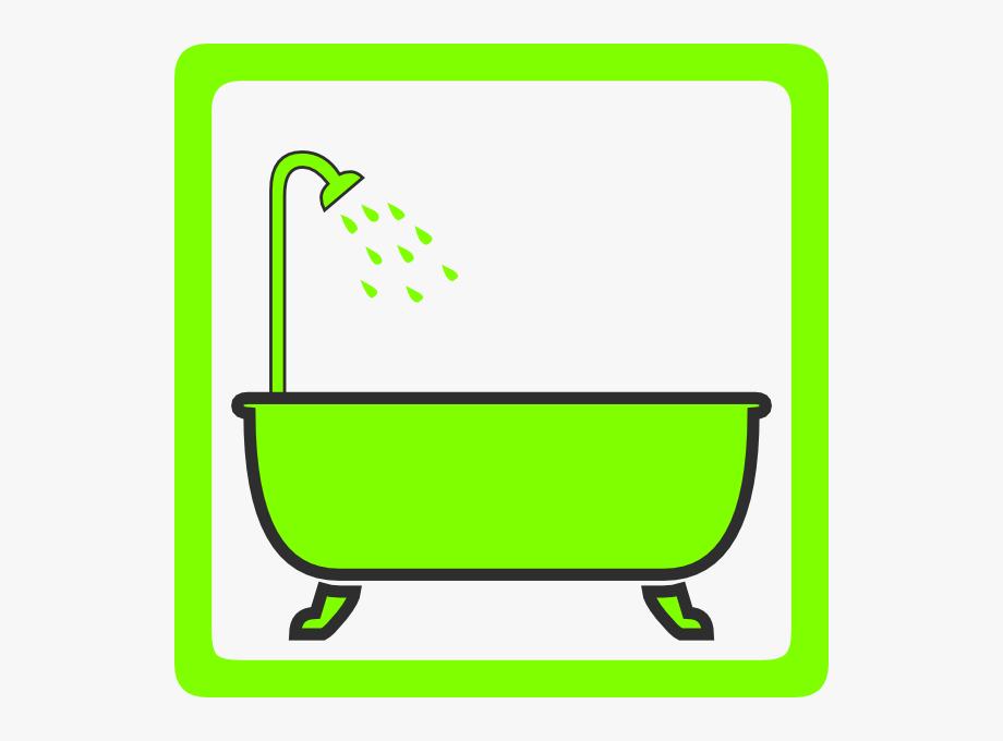 Clipart photo com graphic free stock Bathtub With Shower Clip Art - Clipart Free Bath #120709 - Free ... graphic free stock