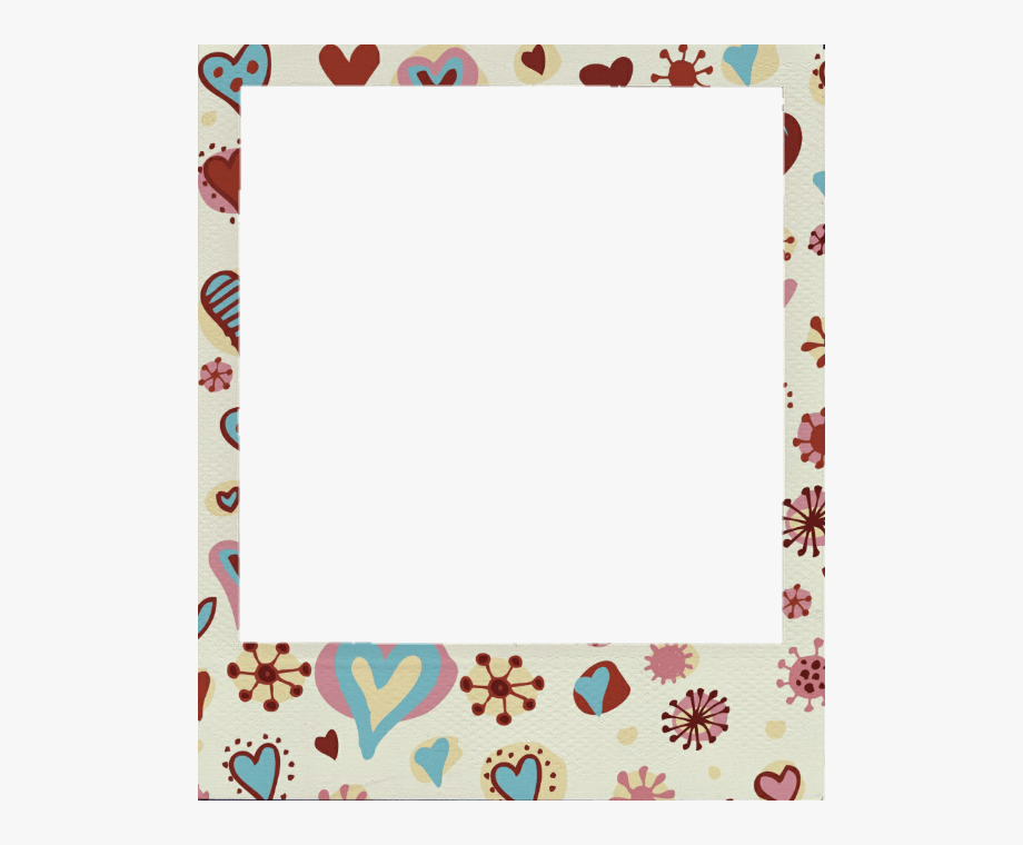 Clipart photo frame hd svg royalty free download Clothespin Clipart Polaroid Template - Cute Polaroid Frame Hd ... svg royalty free download