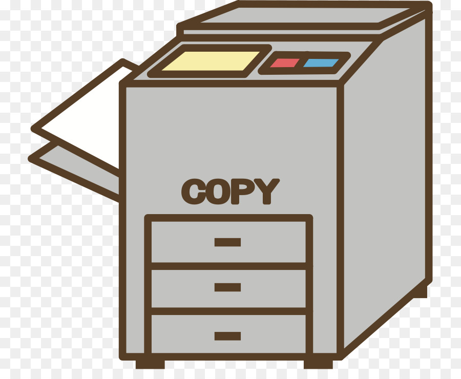 Clipart photocopier image black and white download Paper Background png download - 791*721 - Free Transparent ... image black and white download