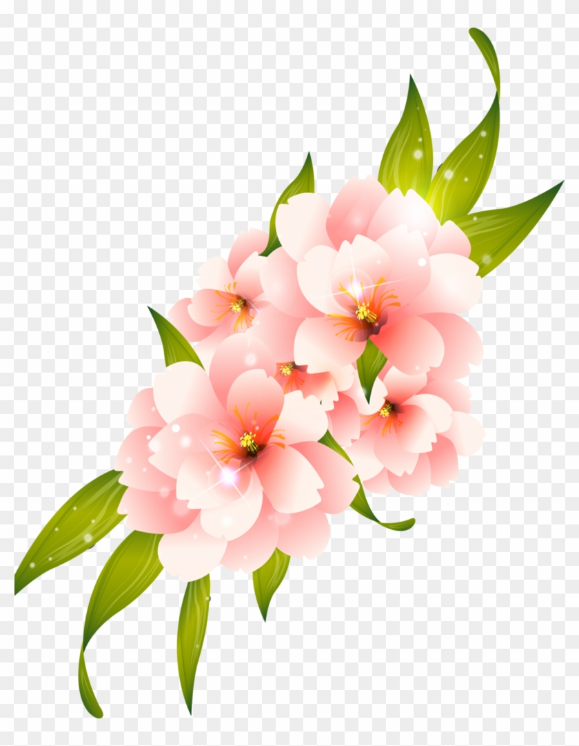 Flower clipart for photoshop