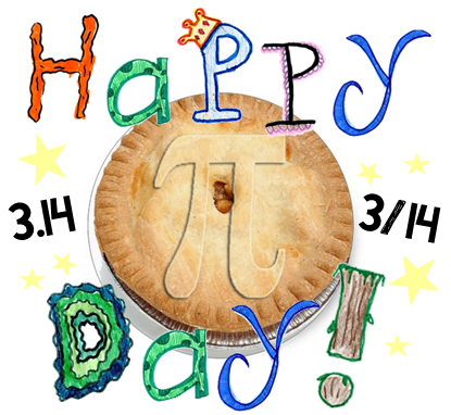 Mccort mirror. Clipart pi day