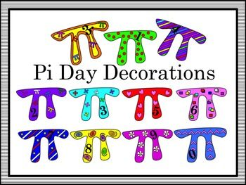 Pi Day Decorations | The o'jays, The beginning and Teaching picture black and white