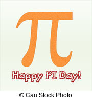 Illustrations and clip art. Clipart pi day