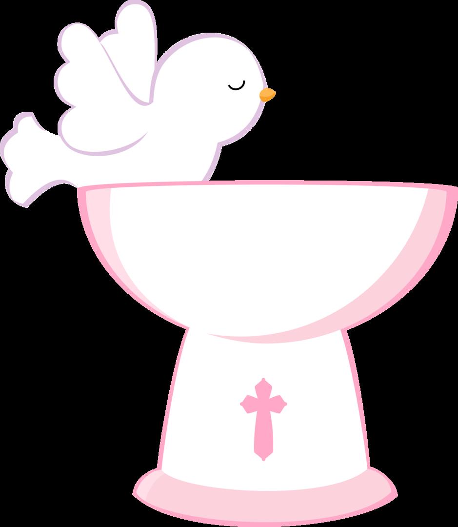 Clipart pia clipart transparent Communion Clipart Pink - Pia Batismal Png , Transparent Cartoon ... clipart transparent