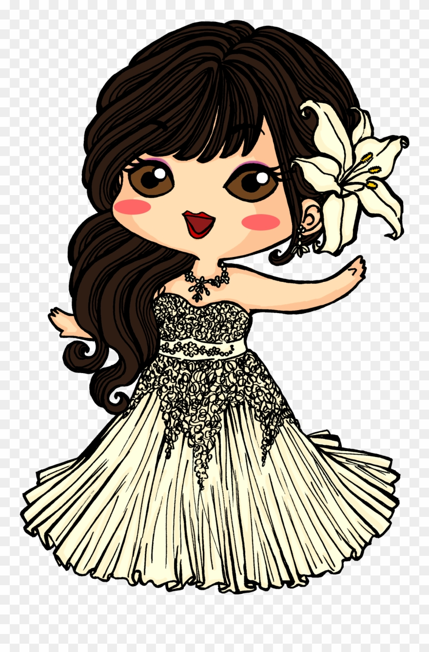 Clipart pia vector black and white stock Pia Chibi Wedding - Drawing Clipart (#2165922) - PinClipart vector black and white stock