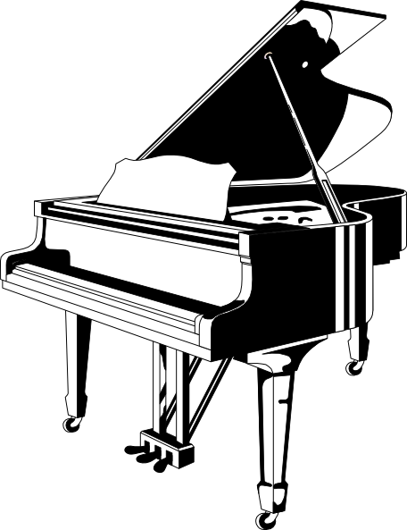 Clipart piano gratuit picture freeuse library Grand Clipart - Clipart Kid picture freeuse library