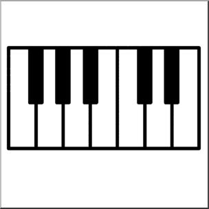 Clipart piano key cover graphic stock Clipart piano key cover - ClipartFest graphic stock