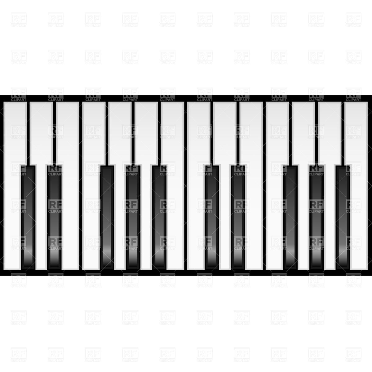 Clipart piano key cover jpg free Clipart piano key cover - ClipartFest jpg free