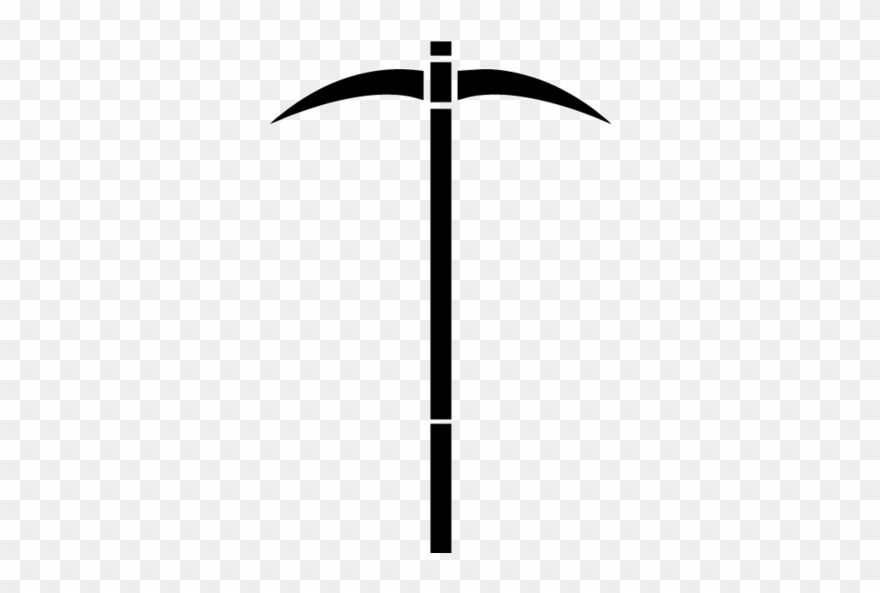 Clipart pickaxe clipart black and white stock Axe - Pickaxe Clipart - Png Download (#1627823) - PinClipart clipart black and white stock