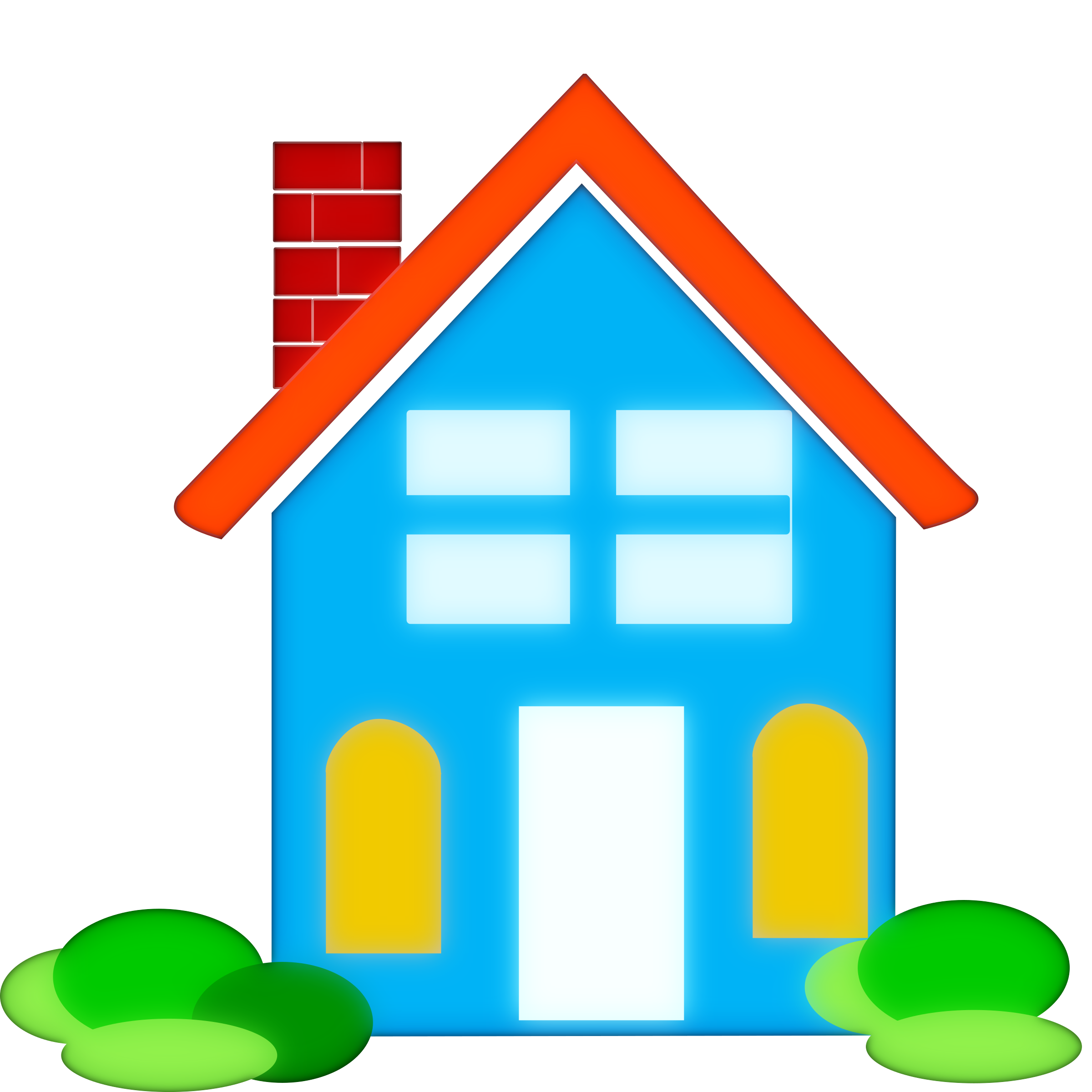 House painter clipart graphic transparent Clipart - home clipart graphic transparent