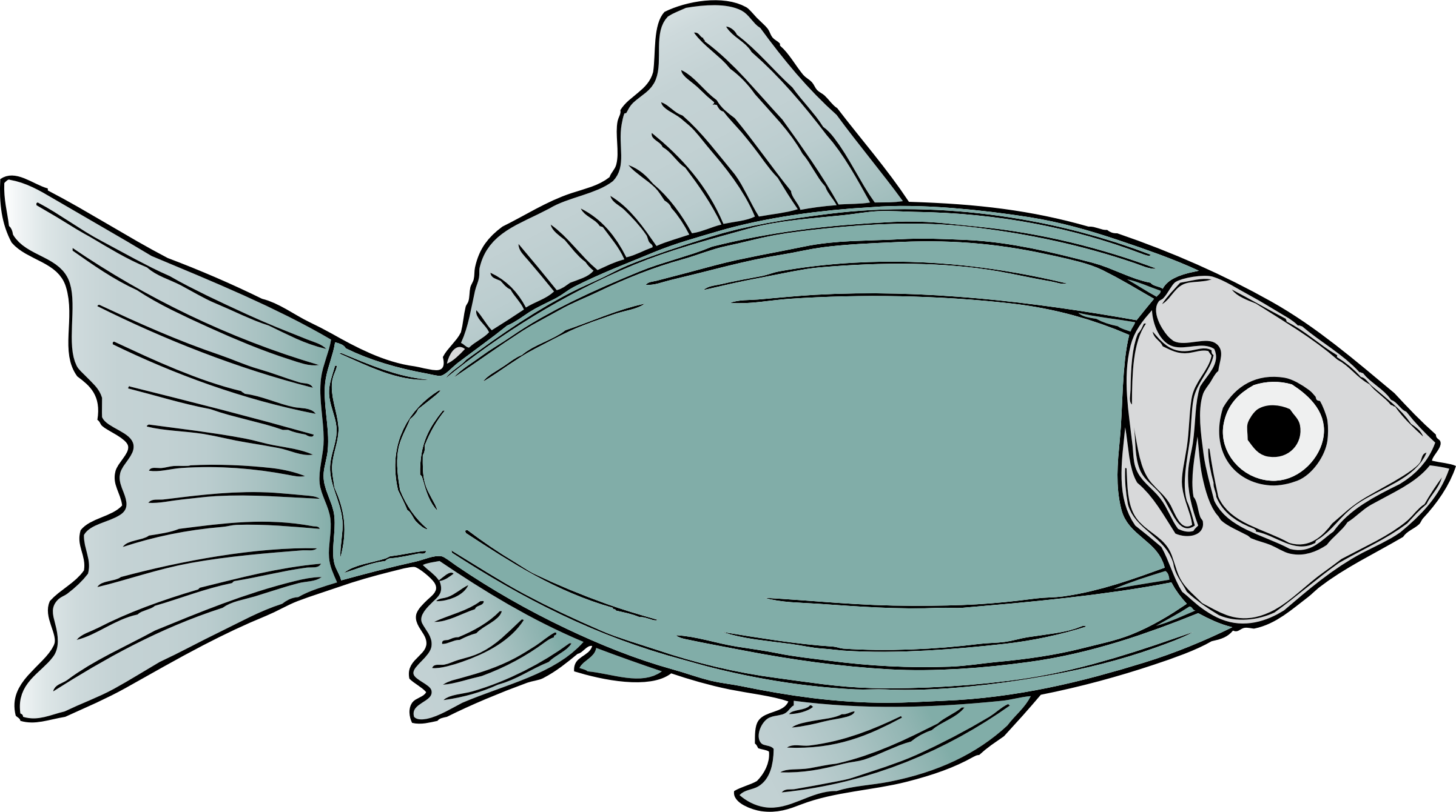 Fish reading clipart image freeuse library Clipart - generic fish image freeuse library