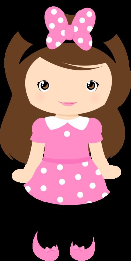 Clipart picture of a girl vector cartoon girl Cute clipart grafos club house minus mu ecos png ... vector