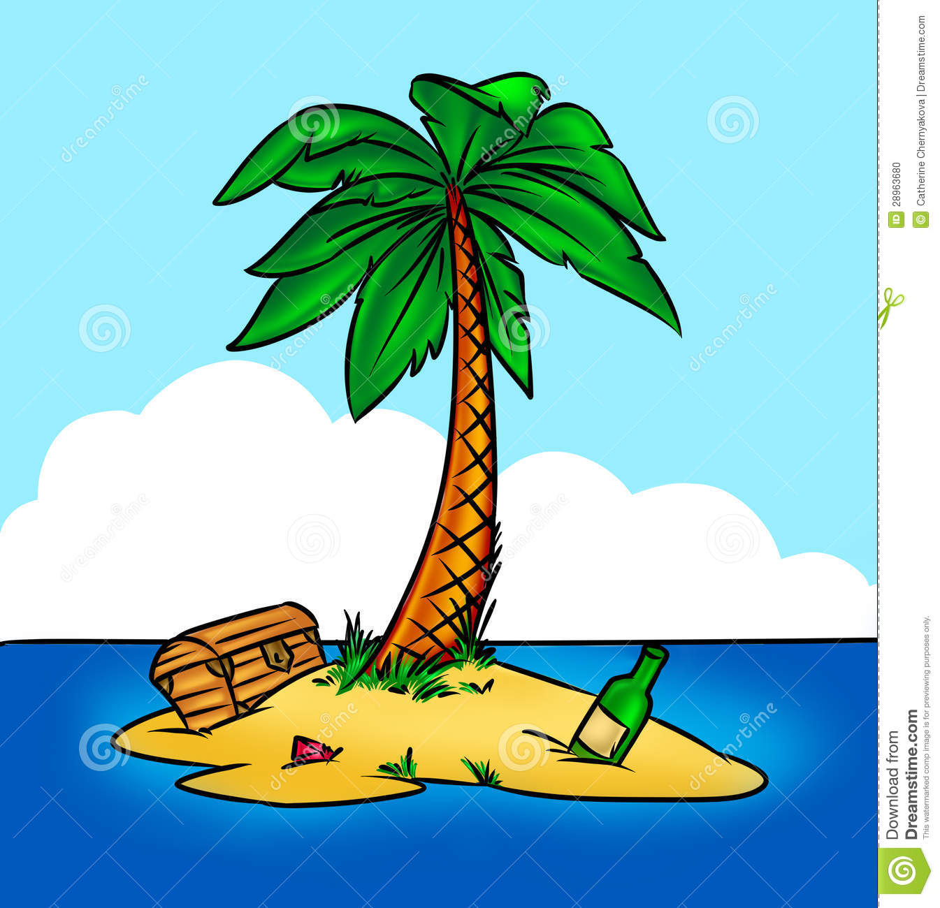 Clipart picture of an island clipart free library Island pirates | Clipart Panda - Free Clipart Images clipart free library