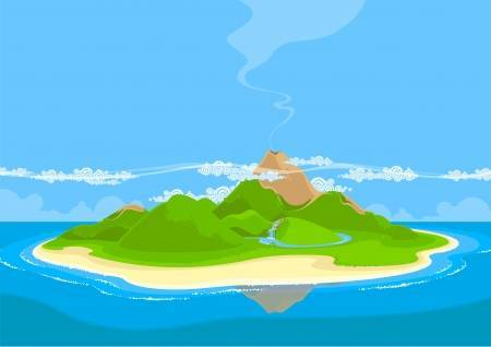 Clipart picture of an island image stock Clipart of island 7 » Clipart Portal image stock