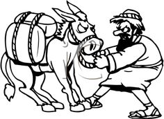 Clipart picture of balaam and the talking donkey download 72 Best Balaam images in 2019 | Sunday school, Sunday school crafts ... download