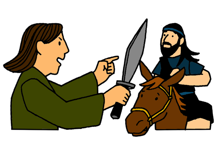 Clipart picture of balaam and the talking donkey png library download Balaam and His Donkey – Mission Bible Class png library download