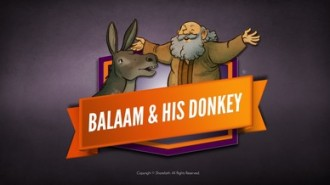 Clipart picture of balaam and the talking donkey svg library library Numbers 22 Balaam\'s Donkey Bible Video For Kids | Bible Videos For Kids svg library library