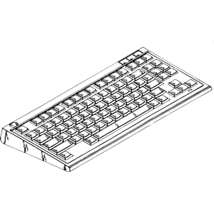 Clipart picture of computer keyboard clipart free stock computer keyboard 2 clipart, cliparts of computer keyboard 2 free ... clipart free stock