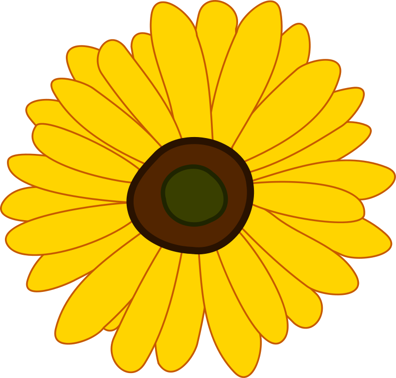 Clipart picture of flowers stock Flowers free flower clipart images clipart - Clipartix stock