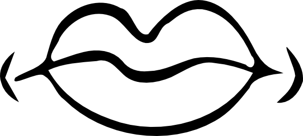 Clipart picture of lips in black and white graphic transparent Black And White Lips PNG Transparent Black And White Lips.PNG Images ... graphic transparent