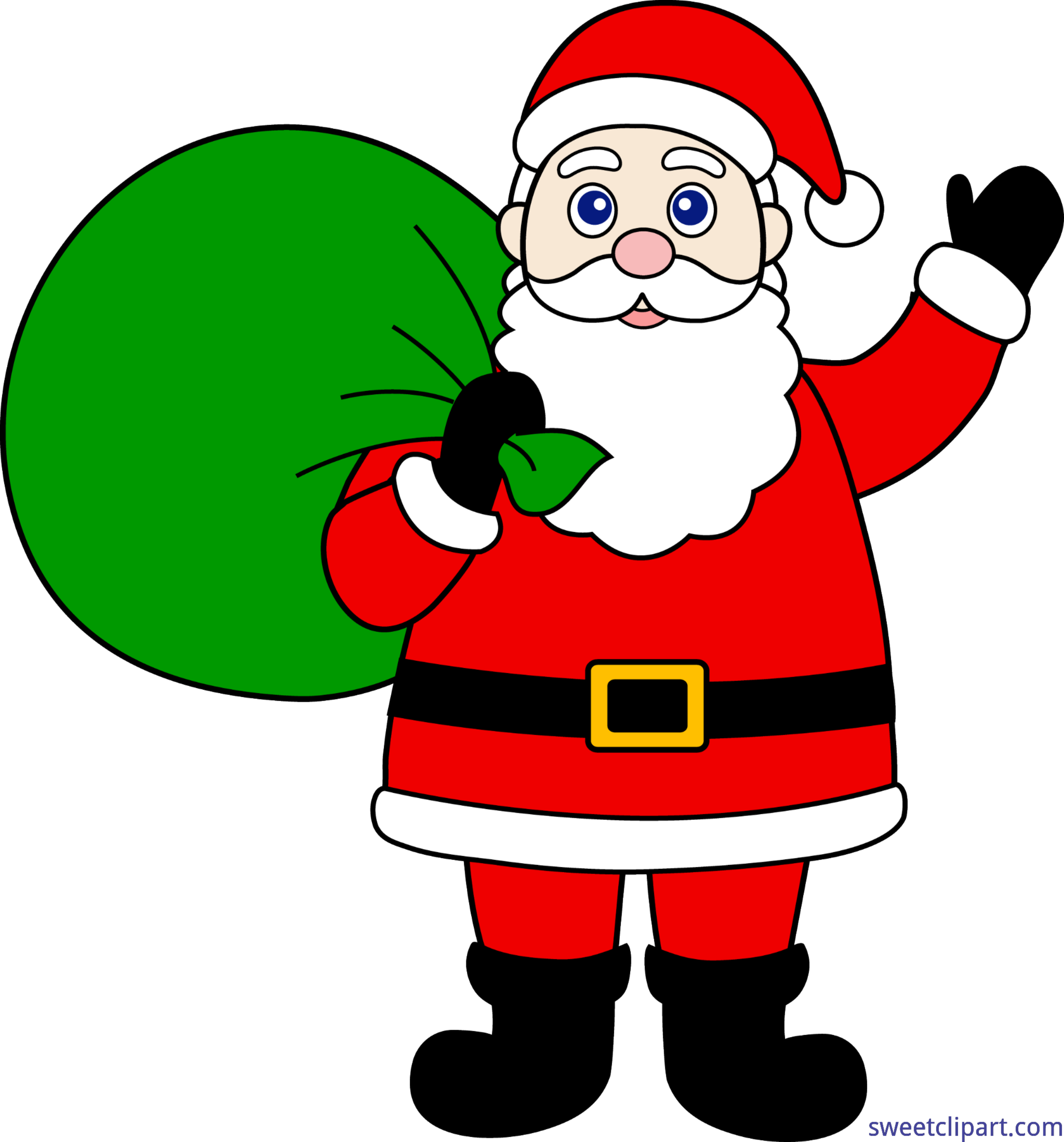 Clipart picture of santa claus picture freeuse library Santa Claus Clip Art - Sweet Clip Art picture freeuse library