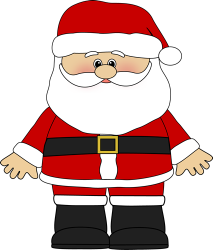 Clipart picture of santa claus clip art APPROCHE DE LA DIZAINE   Christmas Decorations   Santa claus images ... clip art