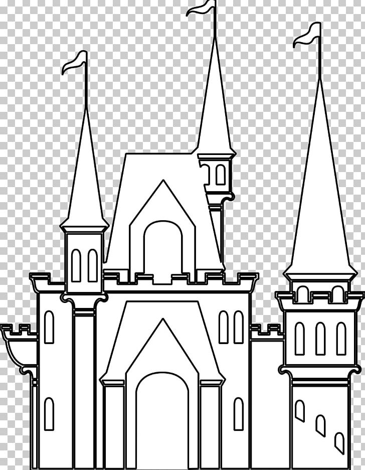 Clipart picture of sleeping beauty black and white clipart free stock Sleeping Beauty Castle Cinderella Castle Black And White PNG ... clipart free stock
