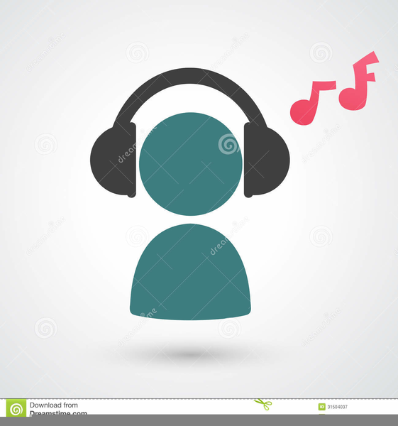 Clipart picture of someone listening to music transparent Person Listening To Music Clipart | Free Images at Clker.com ... transparent