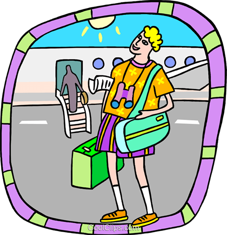 Clipart picture of tourist at airport banner library library tourist at airport Royalty Free Vector Clip Art illustration ... banner library library