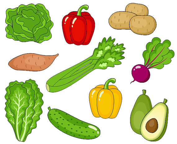 Veg clipart picture free stock 10 Creative Vegetable Painting Ideas For Kids | Painting Ideas ... picture free stock