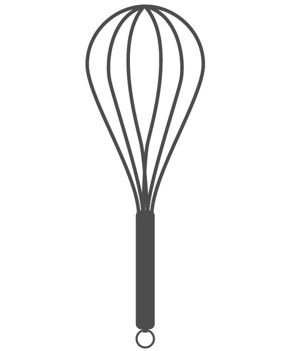 Clipart picture of whisk black and white png royalty free download kitchen-utensils free-stock-vector | Crafternoons | Kitchen clipart ... png royalty free download