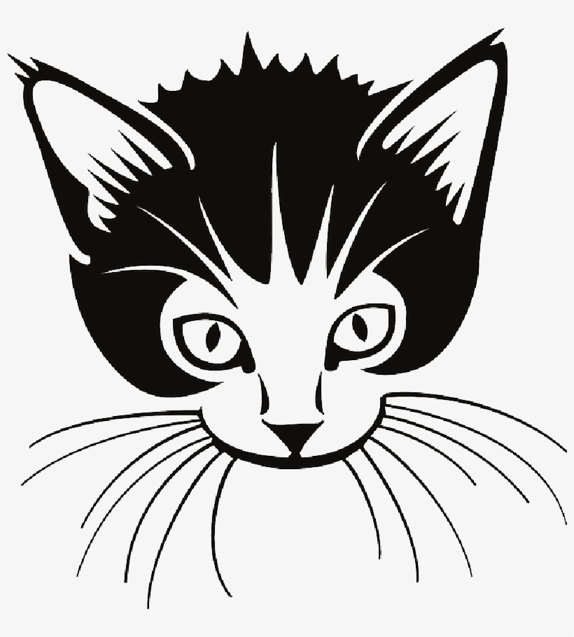 Clipart picture of whisker black and white clipart stock Cat Whiskers Png Download - Whiskers Clipart Black And White PNG ... clipart stock