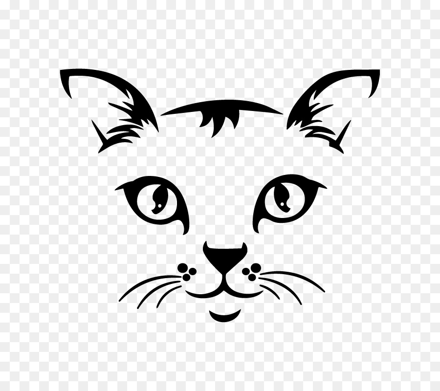 Clipart picture of whisker black and white picture stock Dog And Cat png download - 800*800 - Free Transparent Whiskers png ... picture stock