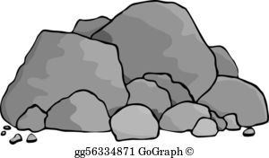 Rock pile clipart png freeuse library Rocks Clip Art - Royalty Free - GoGraph png freeuse library