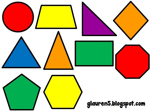 Clipart pictures of shapes clip royalty free stock Geometric Shapes Clipart with regard to Geometric Shapes Clip Art ... clip royalty free stock